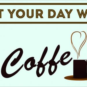 STICKER COFFE TIME