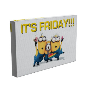 TABLOU MINIONS FRIDAY