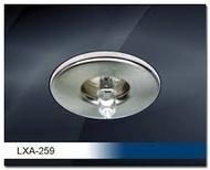 LXA-259GM Ugradna rozetna zvezdano nebo  bruseno zlato