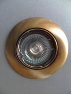 LXA-101 AB Ugradna rozetna staro zlato