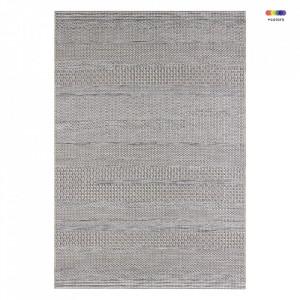 Covor crem/gri pentru exterior din polipropilena Embrace Marne Cream Grey Elle Decor (diverse dimensiuni)