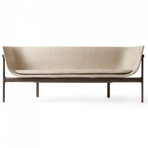 Canapea din lemn de stejar si textil 180 cm Tailor Dakar Menu