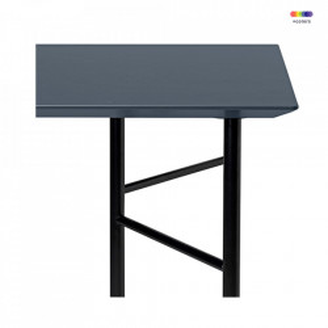 Blat din MDF 65x135 cm Mingle Lino Charcoal Ferm Living