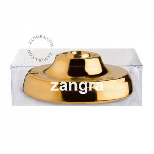 Pavilion auriu din portelan Riley Zangra