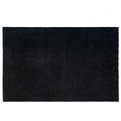 Covor negru din viscoza si poliester 170x240 cm Brent LifeStyle Home Collection