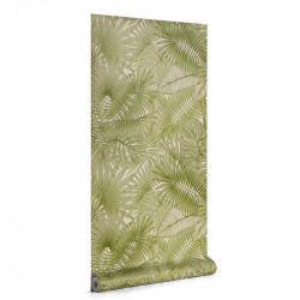 Rola tapet verde din hartie 53x1000 cm Tropic La Forma