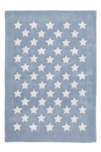 Covor albastru din fibre acrilice 120x170 cm Dream Stars Lalee