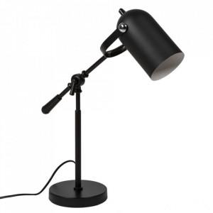 Lampa birou neagra din metal 54 cm Aitana Somcasa