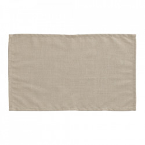 Set 4 protectii masa dreptunghiulare bej din textil 30x50 cm Samay La Forma