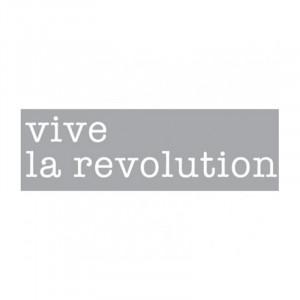 Decoratiune luminoasa alba din sticla Neon Art Vive La Revolution Seletti