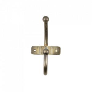 Cuier auriu din metal Anta Woood