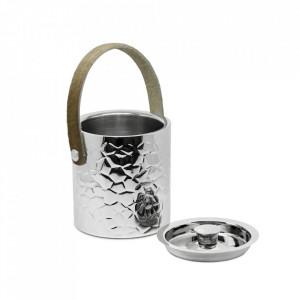 Galeata argintie din inox pentru gheata Capri Edzard