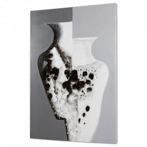 Tablou multicolor din lemn de pin 60x90 cm Vases Santiago Pons