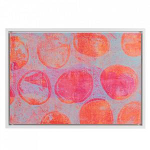 Tablou multicolor din MDF 69x97 cm Abstract Santiago Pons