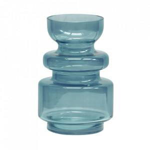 Vaza albastra din sticla 24 cm Expressive Be Pure Home