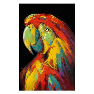 Tablou multicolor din canvas si lemn 90x140 cm Zoe Ter Halle