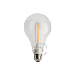 Bec dimabil LED E27 4W Roberta Small Clear Filament Zangra