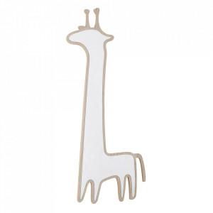 Oglinda maro din MDF si plastic 36x80 cm Giraffe Bloomingville
