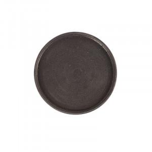 Tava rotunda neagra din rasina 45 cm Rudo LifeStyle Home Collection