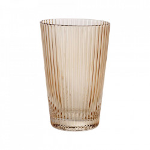 Pahar maro chihlimbar din sticla 7,6x11 cm Flos Bolia