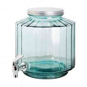 Dozator transparent din sticla pentru bauturi 6 L Recycled