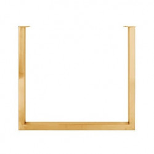 Picior auriu din inox pentru masa U-Leg Richmond Interiors