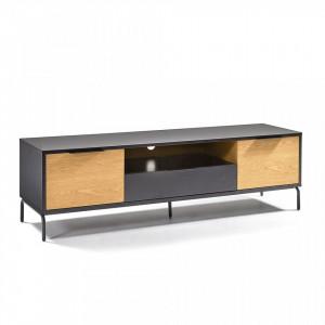 Comoda TV din MDF si lemn 170 cm Savoi La Forma