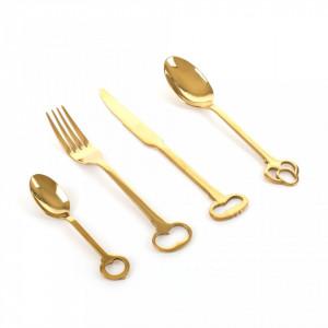 Set 24 tacamuri Keytlery Gold Seletti