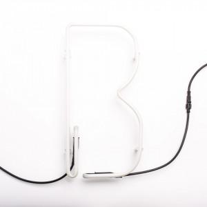 Lampa neon litera B 1050 mm Alphafont Seletti