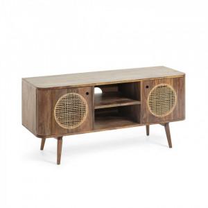Comoda TV din lemn mango 120 cm Geraldine La Forma