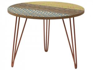 Masuta din lemn de brad 50 cm Portofino Livin Hill
