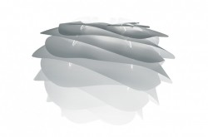 Abajur gri din polipropilena si policarbonat Carmina Mini Misty Grey Umage
