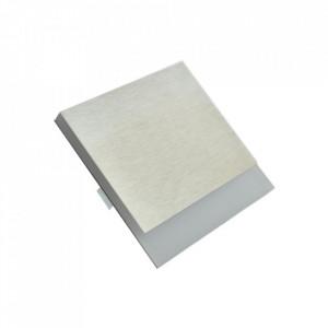 Aplica argintie din aluminiu si plastic Berg S Milagro Lighting