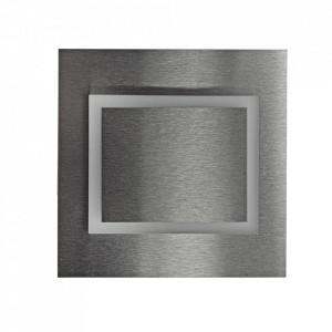 Aplica argintie din aluminiu si plastic Deco S Milagro Lighting