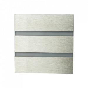 Aplica argintie din aluminiu si plastic Vox L Milagro Lighting