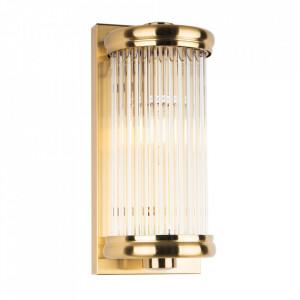 Aplica din sticla si metal New York Brass Maxlight