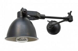 Aplica neagra din alama 13x32-51x15 cm Maxim Versmissen