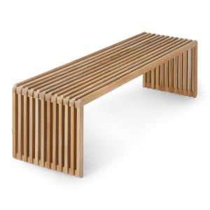 Bancheta maro din lemn de tec 160 cm Teri HK Living