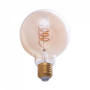 Bec cu filament LED E27 4W Kasini Milagro Lighting