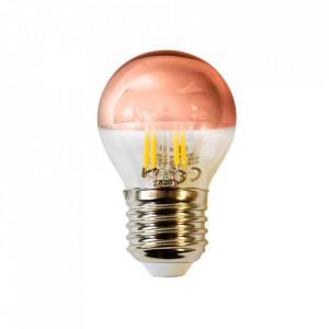 Bec cu filament LED E27 4W Rose Milagro Lighting