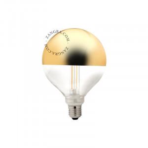 Bec dimabil LED E27 4W Fedora Gold Ali Filament Zangra