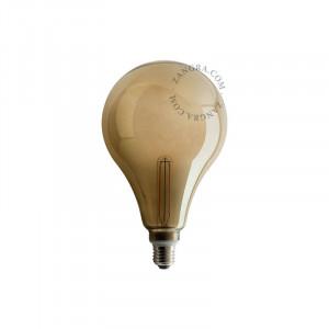 Bec dimabil LED E27 4W Roberta Smoked Filament Zangra