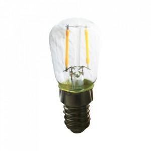 Bec maro chihlimbar cu filament LED E14 1,3W Mini Bulb Opjet Paris