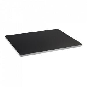 Blat pentru masa negru/alb din lemn 60x75 cm Sanba Serax