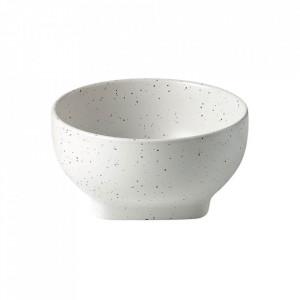 Bol alb din ceramica 13 cm Forma Bolia