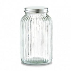 Borcan cu capac transparent din sticla 1,4 L Soja Zeller