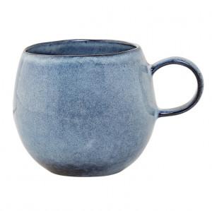 Cana albastra din ceramica 10 cm Sandrine Bloomingville