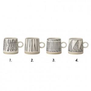 Cana ceramica 350 ml Rania Bloomingville