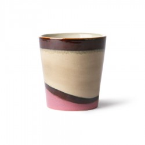 Cana multicolora din ceramica 180 ml Dunes HK Living
