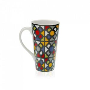 Cana multicolora din portelan 8,5x15 cm Urbana Tall Versa Home